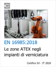 EN 16985:2018 | Le zone ATEX negli impianti di verniciatura