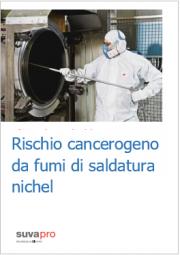 Rischio cancerogeno da fumi di saldatura nichel