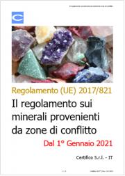 Il regolamento sui minerali provenienti da zone di conflitto