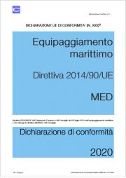 Dichiarazione UE di conformità | Direttiva MED