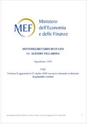 MEF 2020   Superbonus 110% FAQ