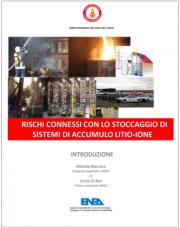 Rischi connessi con lo stoccaggio di sistemi di accumulo litio-ione