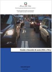 Ossido e biossido di azoto (NOx e NO2) Min Salute 2015