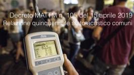 Decreto MATTM n. 105 del 15 aprile 2019