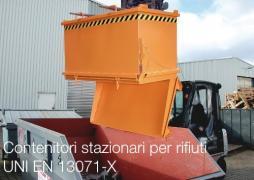 Contenitori stazionari per rifiuti Cap ≤ 5000 lt: UNI EN 13071-X