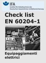 Check list EN 60204-1 Testing of the electrical equipment of machines - IFA