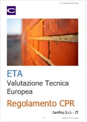 Regolamento CPR: norme armonizzate ed EAD (ETA)