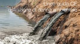 Linee guida CE definizione di danno ambientale