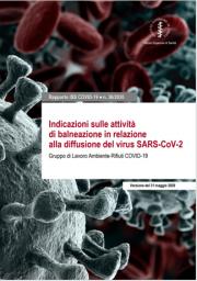 Rapporti ISS COVID-19 n. 36/2020 | Indicazioni sulle attività di balneazione
