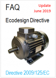 FAQ on the ecodesign directive update June 2019