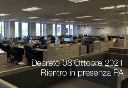 Decreto 08 Ottobre 2021