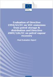Valutazione emissioni di COV da stoccaggio e distribuzione di benzina