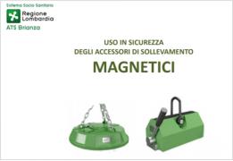 Uso in sicurezza degli accessori di sollevamento magnetici