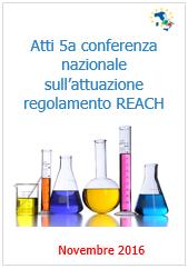 Atti 5a Conferenza nazionale Regolamento REACH