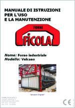 Forno industriale: Manuale Istruzioni Uso Manutenzione