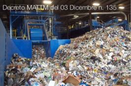Decreto MATTM del 03 Dicembre n. 135