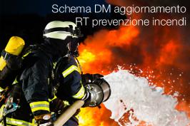 Schema DM aggiornamento RT prevenzione incendi