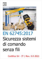 EN 62745:2017 | Sicurezza sistemi di comando senza fili