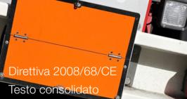 Direttiva 2008/68/CE   Testo consolidato