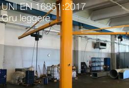 UNI EN 16851:2017 | Gru - Sistemi di gru leggere