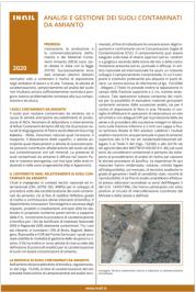 Analisi e gestione dei suoli contaminati da amianto