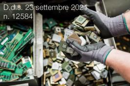 Decreto dirigenziale Reg. Lombardia 23 settembre 2021 n. 12584