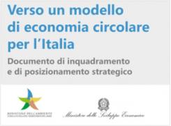Modello di economia circolare per l'Italia - documento di inquadramento