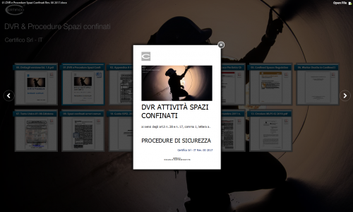 01. DVR e Procedure Sicurezza