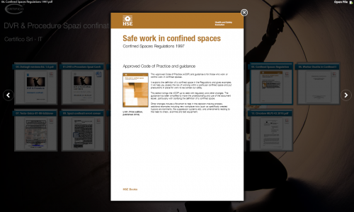 06. Safe work confined Spaces HSE