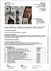 INFO CE - Certifico Document Review
