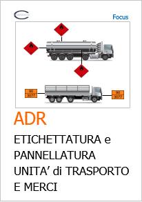 Adr Etichettatura E Pannellatura Unità Di Trasporto Certifico Srl