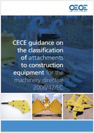 Guidance on the classification of attachments to construction equipment