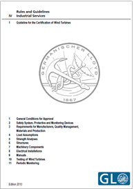Guideline for the Certification of Wind Turbines - GL