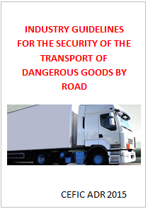 Guidelines for the security of the transport of dangerous goods by road