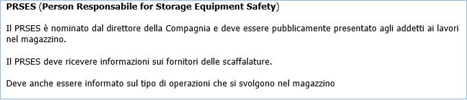 Marcatura Ce Scaffalature.Sicurezza Magazzini A Scaffalature Metalliche Quadro