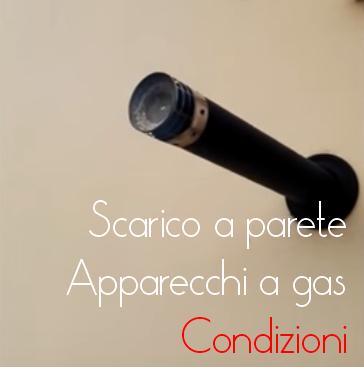 Scarico a parete fumi caldaie sentenza tar lombardia n - Installazione scaldabagno a gas normativa ...