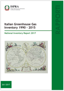 Italian Greenhouse Gas Inventory 1990-2015
