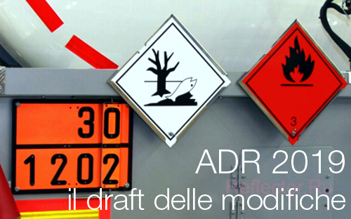 ADR 2019 draft modifiche