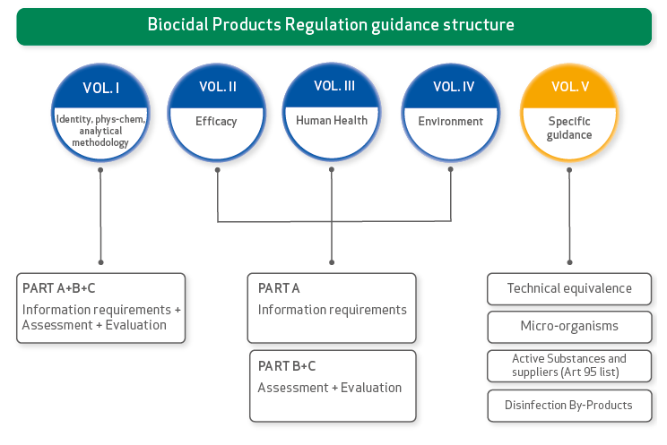 Biocidal Products Regulation Guidance structure