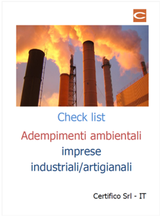 Check List ambientale
