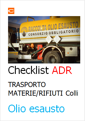 Check list ADR colli