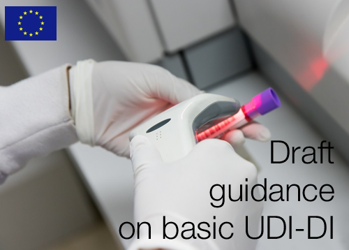 Draft guidance on basic UDI-DI and changes to UDI-DI