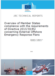 External offshore emergency response plans