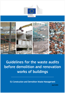 Guidelines waste audits before demolition
