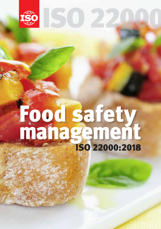 Iso 22000 2018 Food Safety Management Certifico Srl