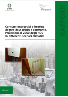 Consumi energetici e heating degree days (HDD) a confronto