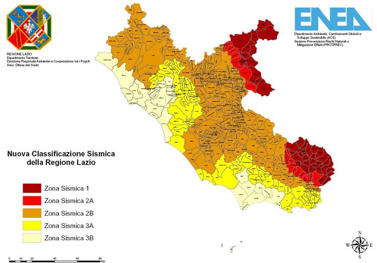 Cartina Zone Sismiche Italia.Classificazione Sismica E La Normativa Antisismica Certifico Srl