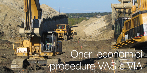 Oneri economici procedure VAS VIA 2018