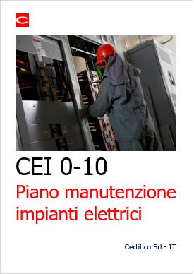 Piano Manutenzione Impianti Elettrici Certifico Srl