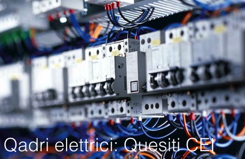 Sigle Componenti Schemi Elettrici : Quadri elettrici quesiti ufficiali cei certifico srl